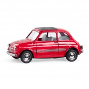 Genuine Red Fiat Nuova 500