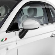 500 | 500C White Side Replacement Wing Mirror Covers/Caps