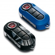 500 | 500C Key Replacement Covers - Barcode Style - Set of 2