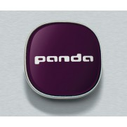 Panda Wheel Replacement Centre Caps Kit in Violet - Set of 4