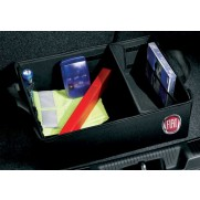 Fiat Boot Container Organiser [Black | Red]