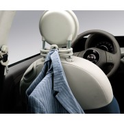 Fiat 500 Multi-Functional Hook Hanger [Black | Ivory]