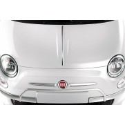 Fiat 500 Front Chrome Bumper Protection