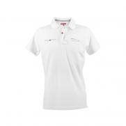 Men's White 500 Short Sleeved Piqué Polo Shirt