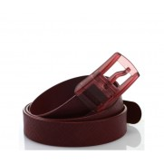 Fiat Rubber Belt - Dark Red