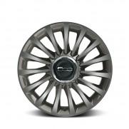 """Fiat 500L Grey Ecoreflex 17""""Alloy Wheels- Set of 4."""