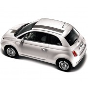 Fiat 500 Barcode Stripes Black|White