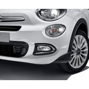 Fiat 500X Bright Chrome Foglight Frame's