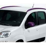 New Fiat Panda Matt Violet OE Longitudinal Bars / Rails