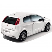 Punto 3 Door | Punto 5 Door Rear Bumper Sports Spoiler - Primed